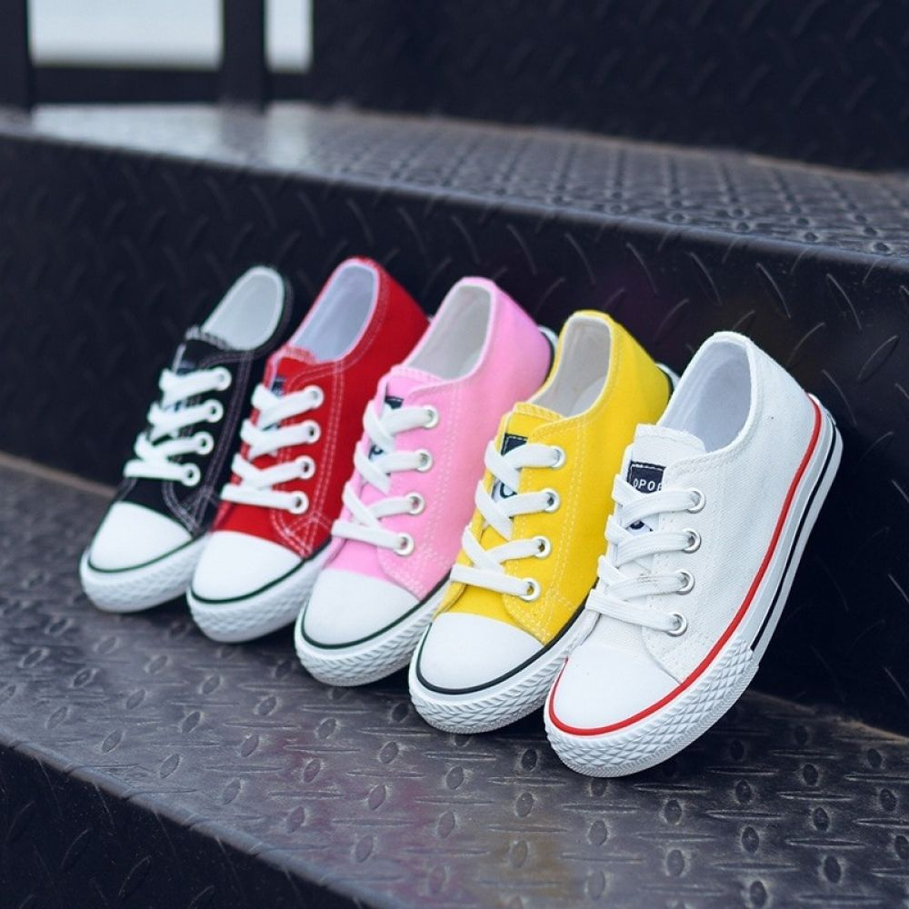 Kids Shoes For Girl Children Canvas Shoes Boys Sneakers 2019