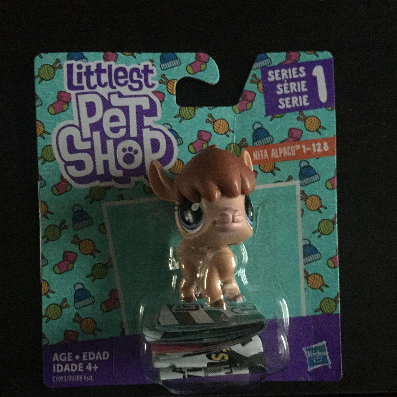 Hasbro C1953 Littlest Pet Shop Single Pet Alpaca