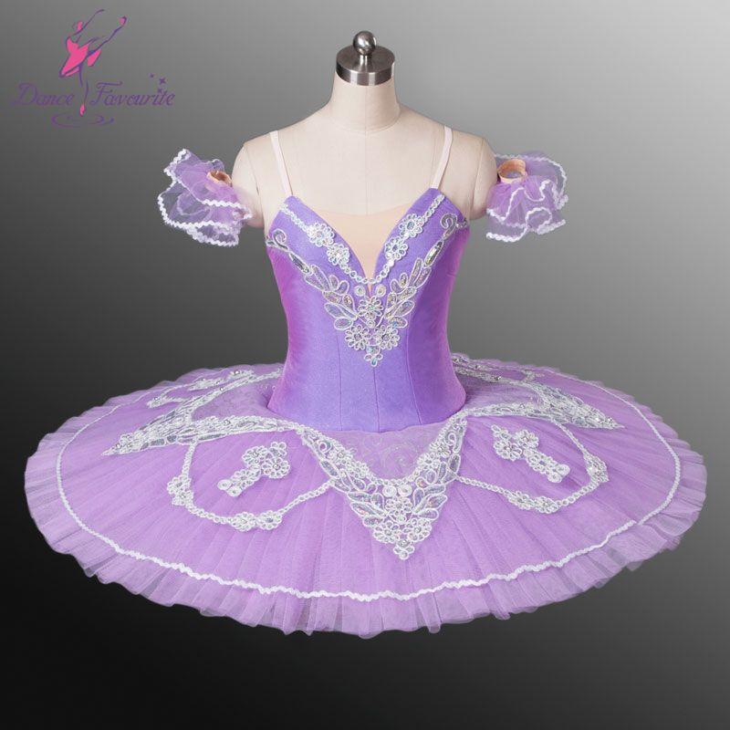 Girls Adult Professional Ballet Tutu Spandex Performance White Skirt Dance Dress