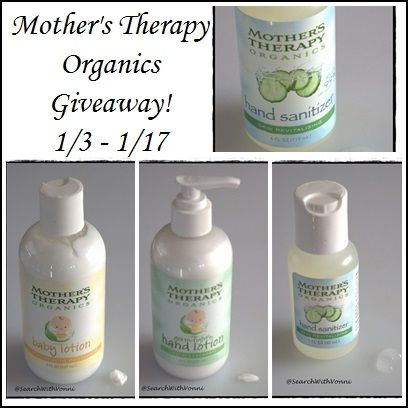 Mother S Therapy Organics Giveaway Natural Hand Sanitizer