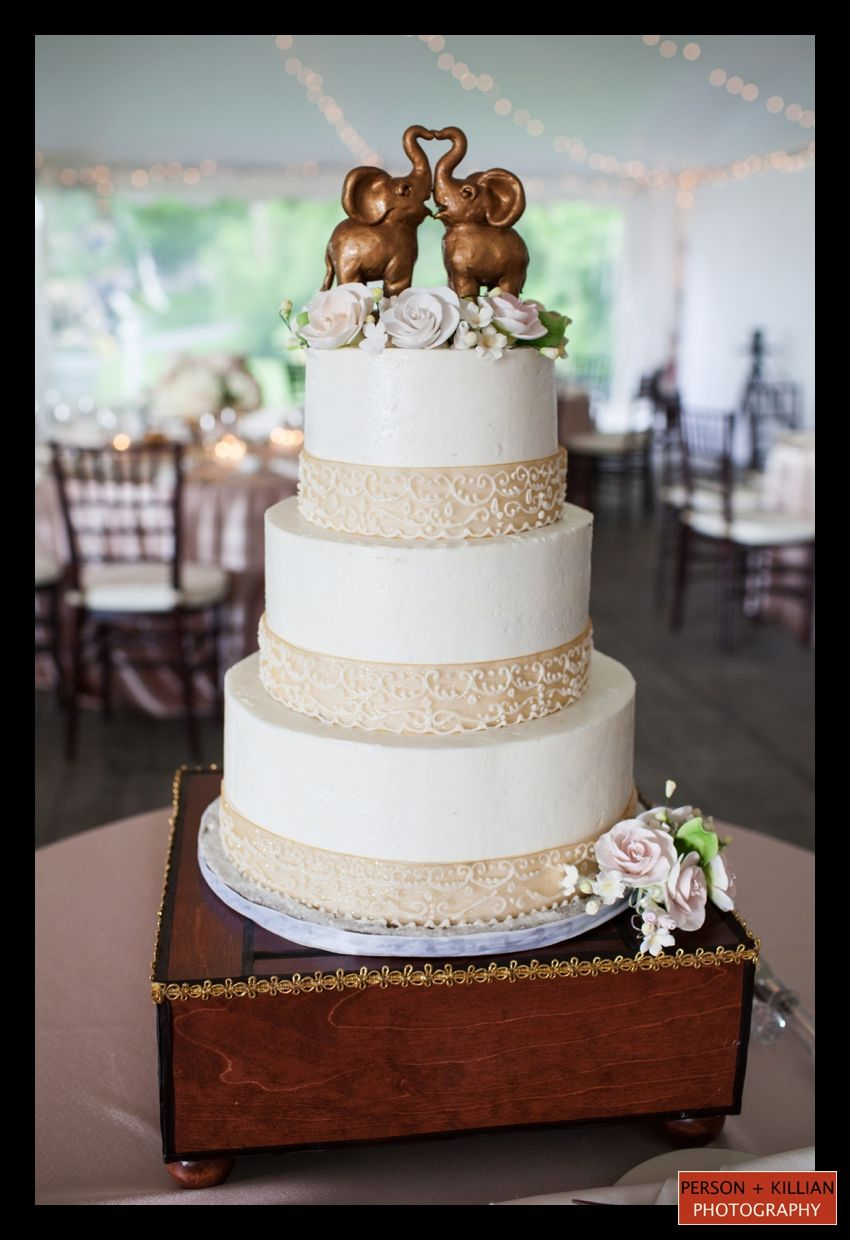 Indian Weddings Inspirations. Elephant wedding cake. Repinned by ...