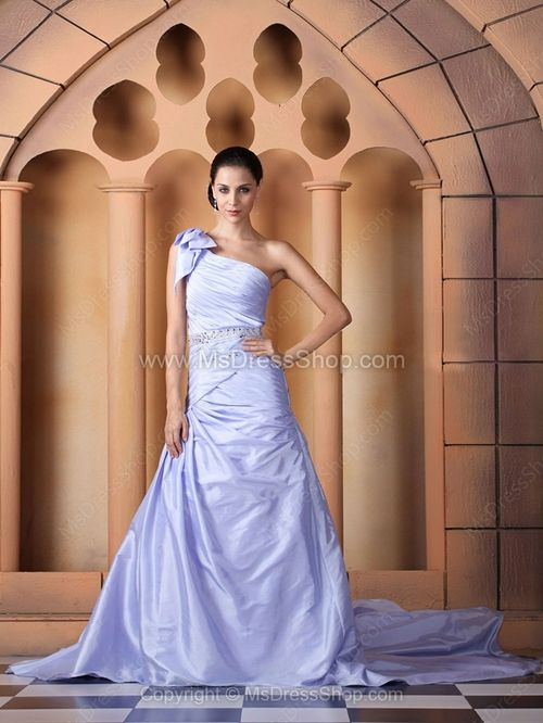 wedding dress in color
