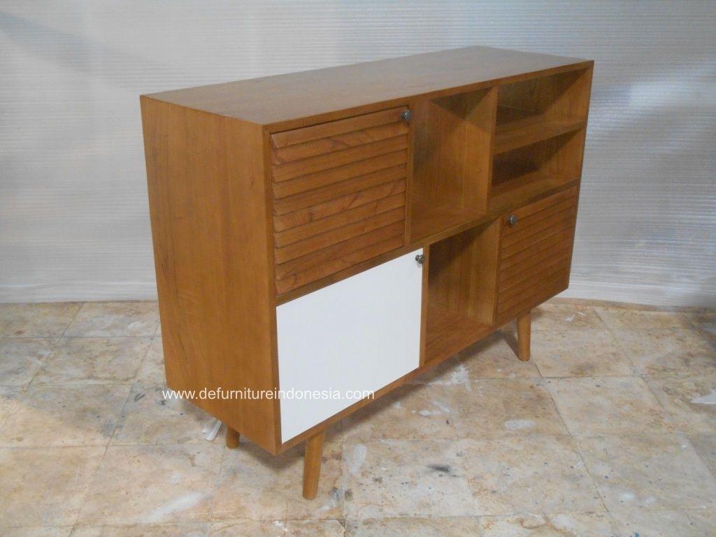 Nakas Scandinavian Warna Natural Alami Mebel Furniture