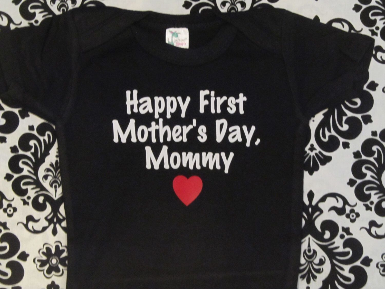 Happy 1St Mothers Day Mommy Infant One Piece