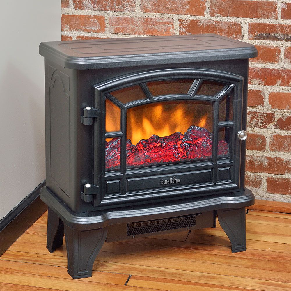 Duraflame 550 Black Electric Fireplace Stove Dfs 550 21 Black