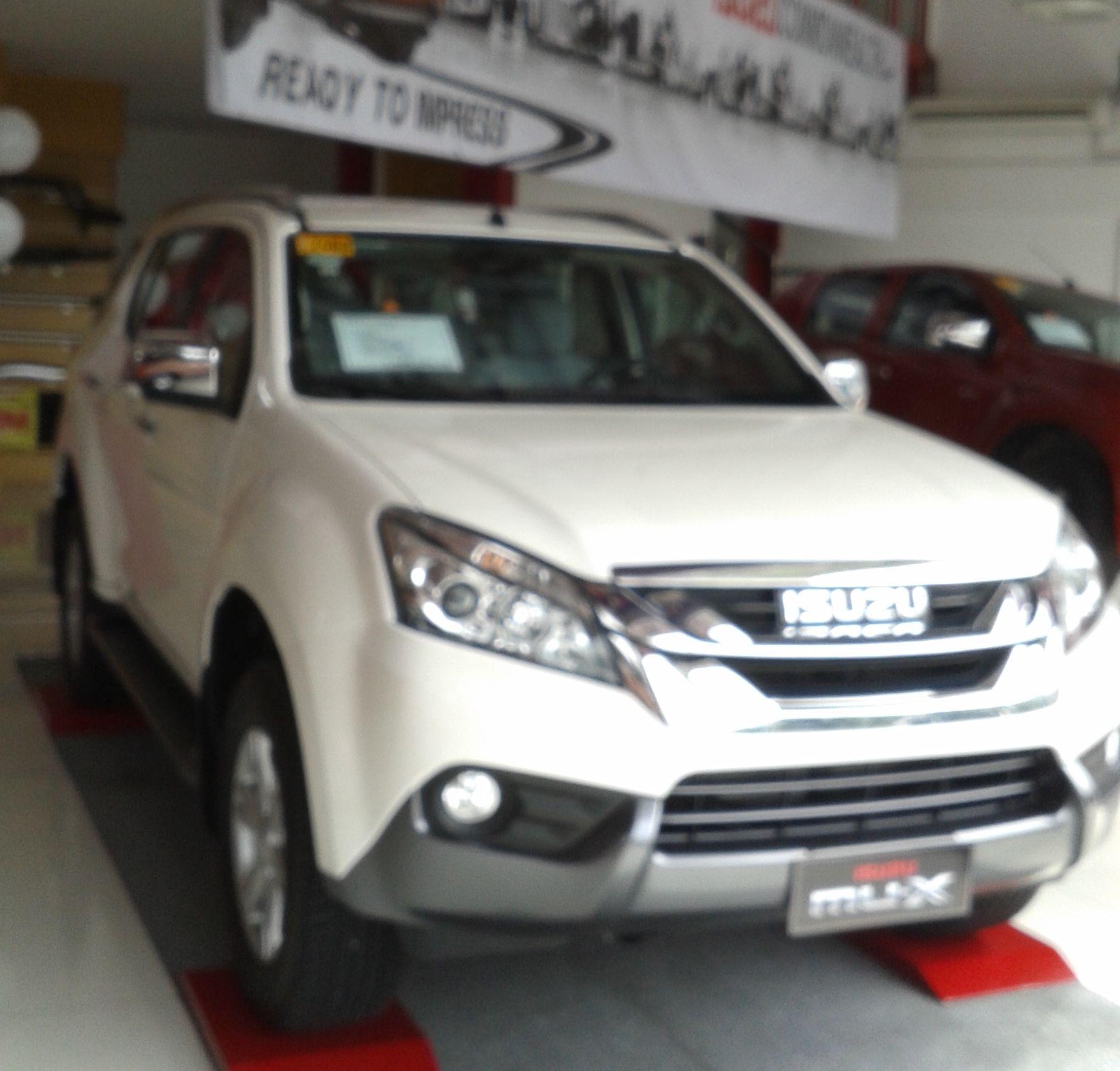 2015 Isuzu Mu X Ls M 4x2 Mt Silky Pearl White Automobiles Best