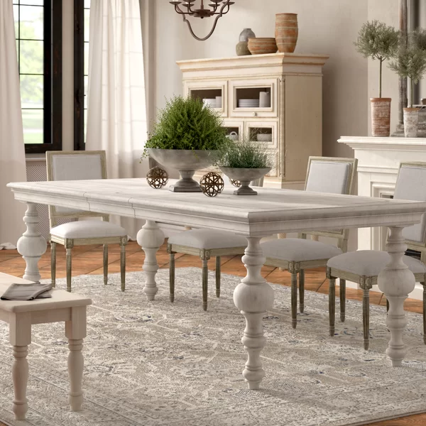 Gertrude Solid Wood Dining Table Country Dining Rooms Dining
