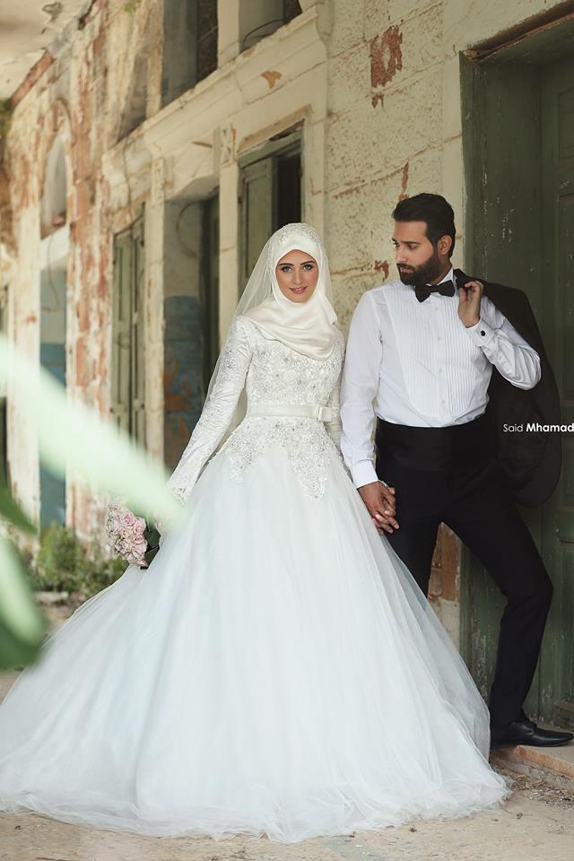 Gut bekannt robe de mariée hijab - robe-orientale.com | Robe de mariage  MH34