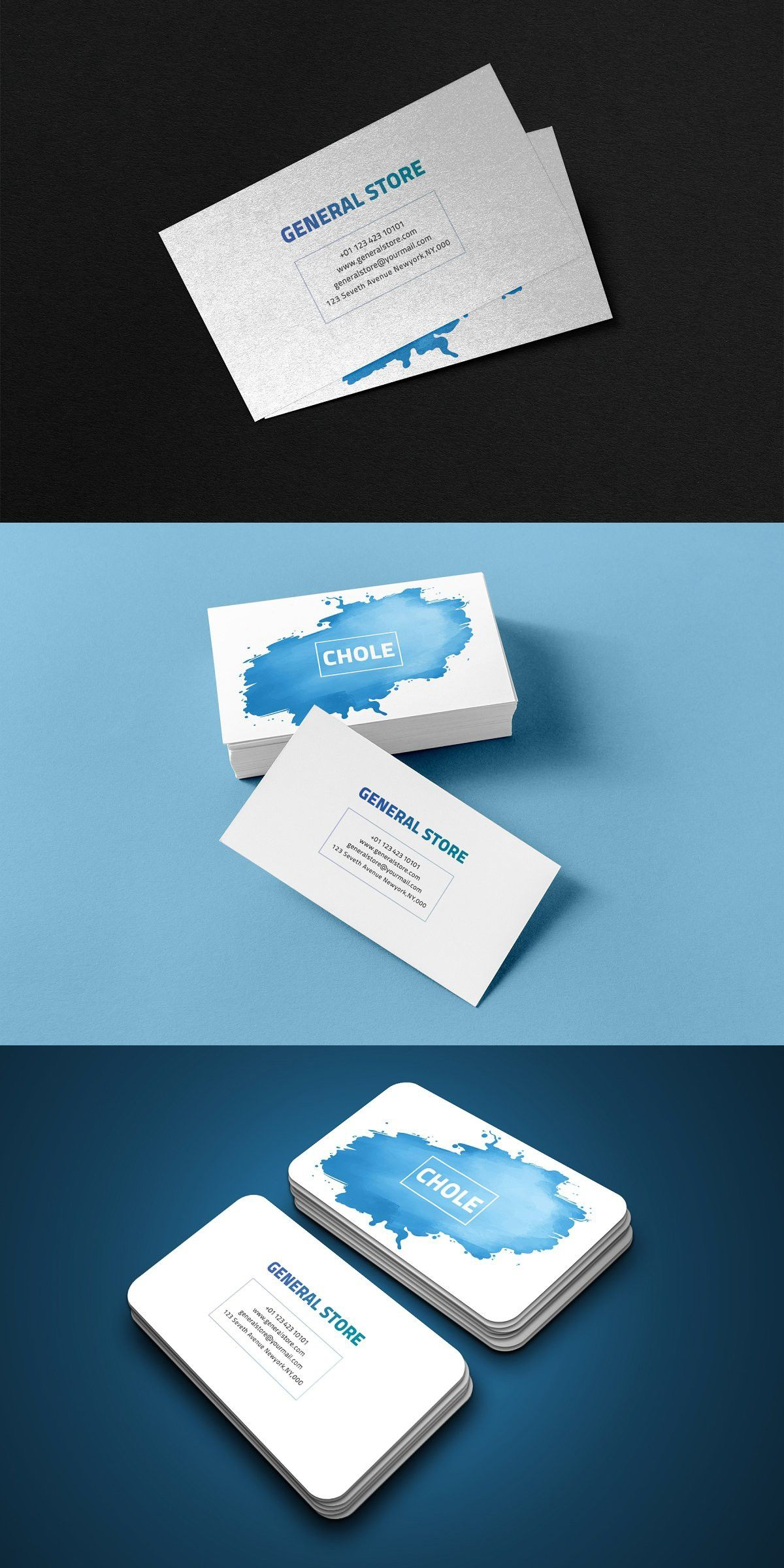 General Store Business Card General Store Cards Business Cards