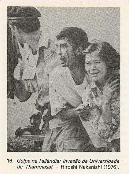 Hiroshi Nakanishi, tomada por ocasião de um golpe direitista na Tailândia em 1976