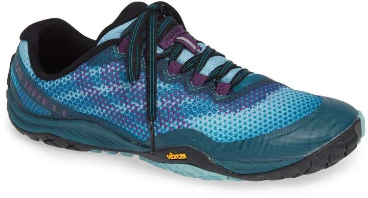5173dd974 Merrell Trail Glove 4 Shield Water Resistant Running Shoe