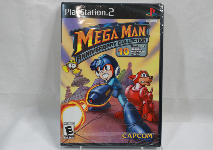 Mega Man Anniversary Collection for the PS2, (New and Sealed