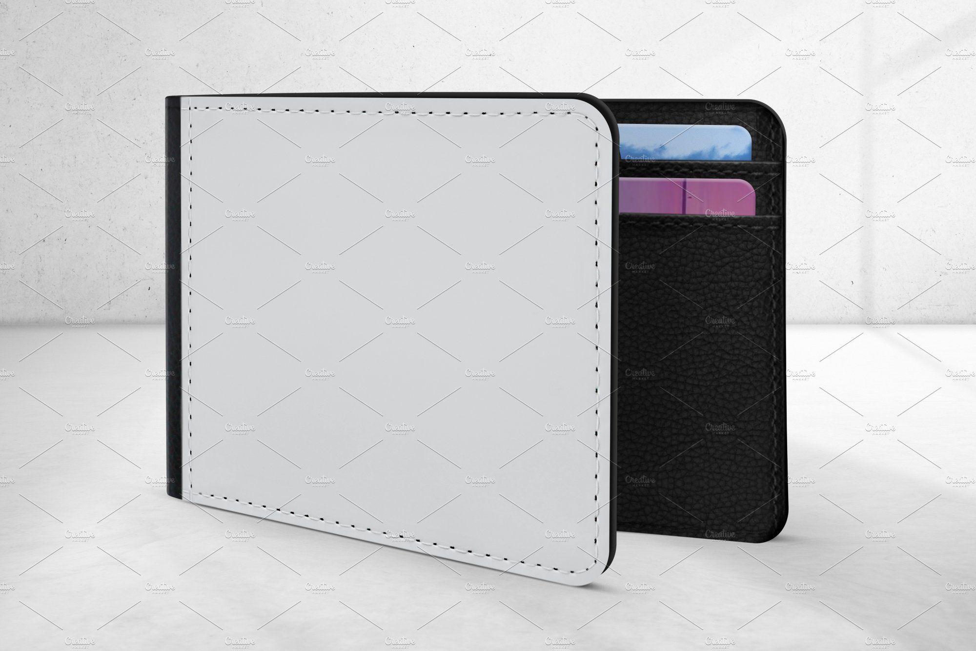 Men S Wallet Mockup In 2021 Wallet Men Wallet Design Graphique