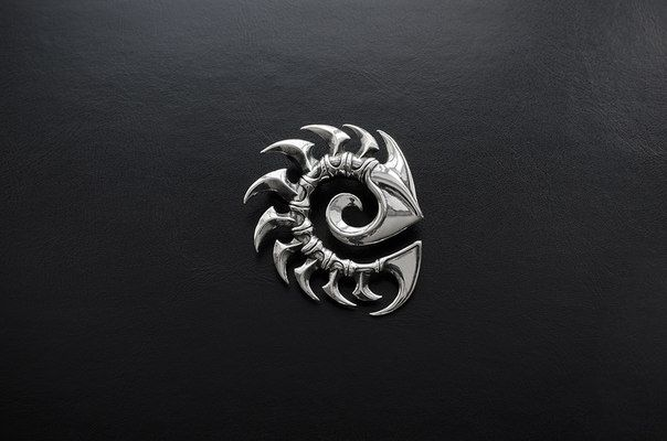 Zerg.Star Craft.Starcraft 2.Blizzard.Gamer.Gamer Jewelry.Video Games.Video Game Jewelry.Steampunk Necklace.Queen Of Blades.Geek Jewelry.Nerd by Usmar on Etsy