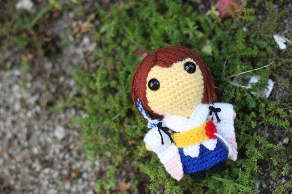 Yuna (Final Fantasy X) - Amigurumi crochet pattern (PDF File)