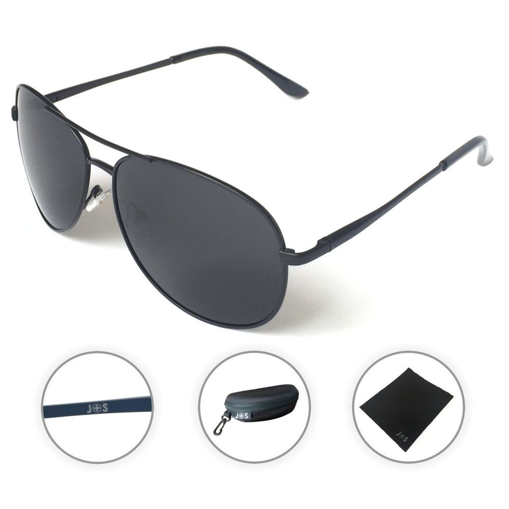 J+S Premium Military Style Classic Aviator Sunglasses  AVIATA  Butterfly 9b997f2477