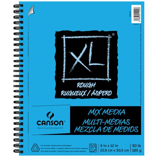 Canson Xl Series Mix Media Pad Canson Xl Rough Mix Media Pad 7 X 10 Michaels Mixed