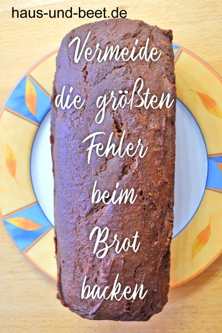 Vermeide die größten Fehler beim Brot backen | Rezepte ...