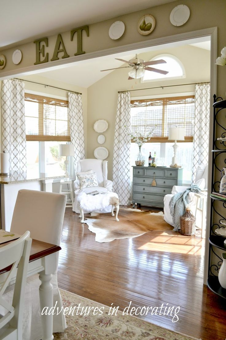 Adventures In Decorating I WANT A LITTLE SUNROOM JUST LIKE THIS OFF OUR KITCHEN DINETTE AREA