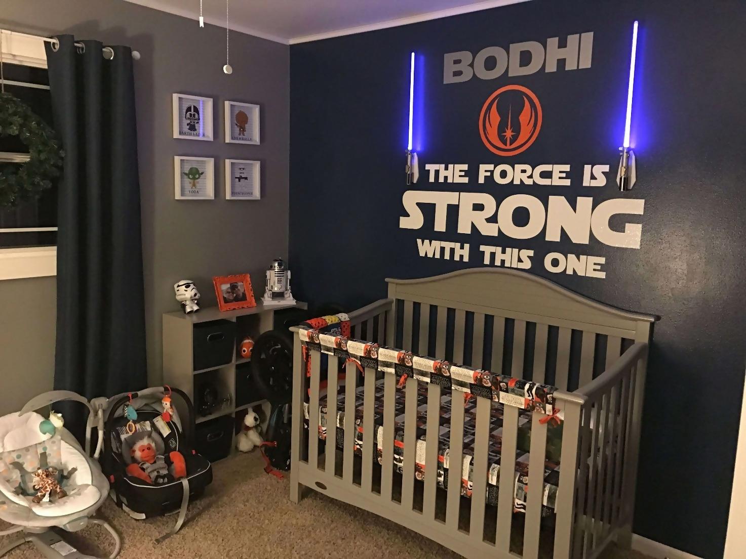 Cool Star Wars Bedroom Decor Ideas Star Wars Baby Room Star