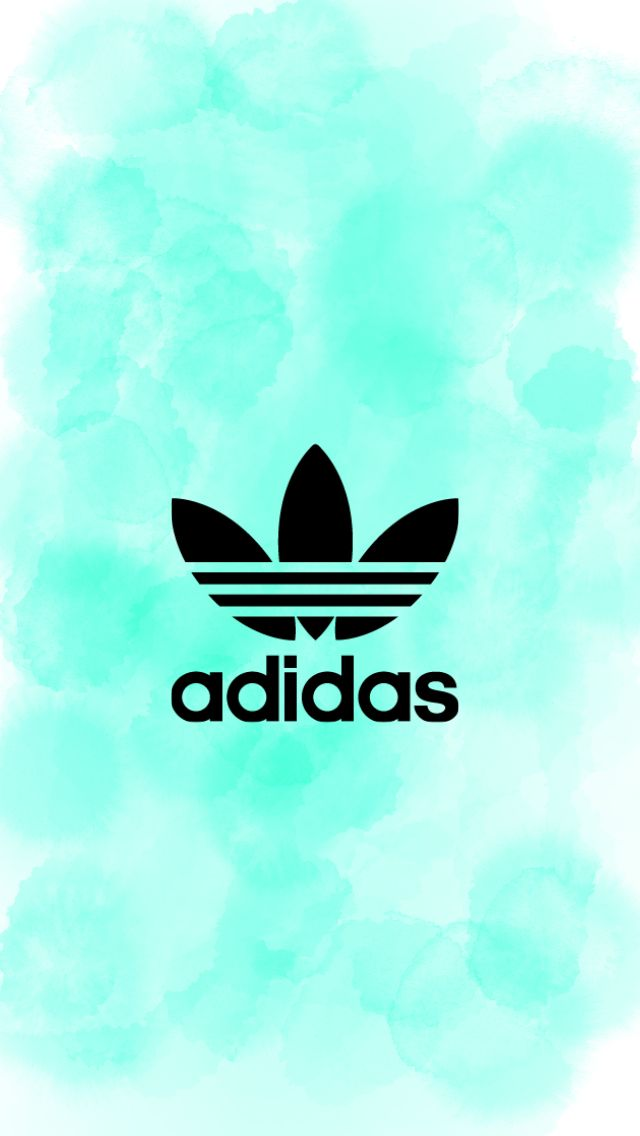 Adidas watercolor wallpaper