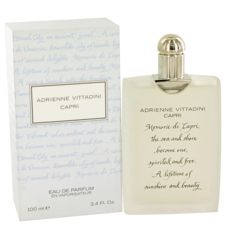 Capri by Adrienne Vittadini Eau De Parfum Spray 3.4 oz via Fragrance Shop | Discount Fragrance and Discount Perfume. Click on the image to see more!