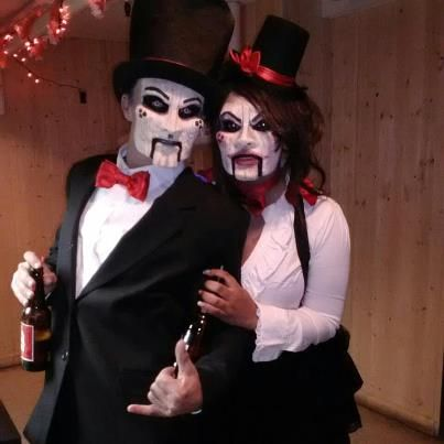 Halloween Costumes For Couples Scary.Creepy Couple Halloween Costume Ideas Google Search Halloween