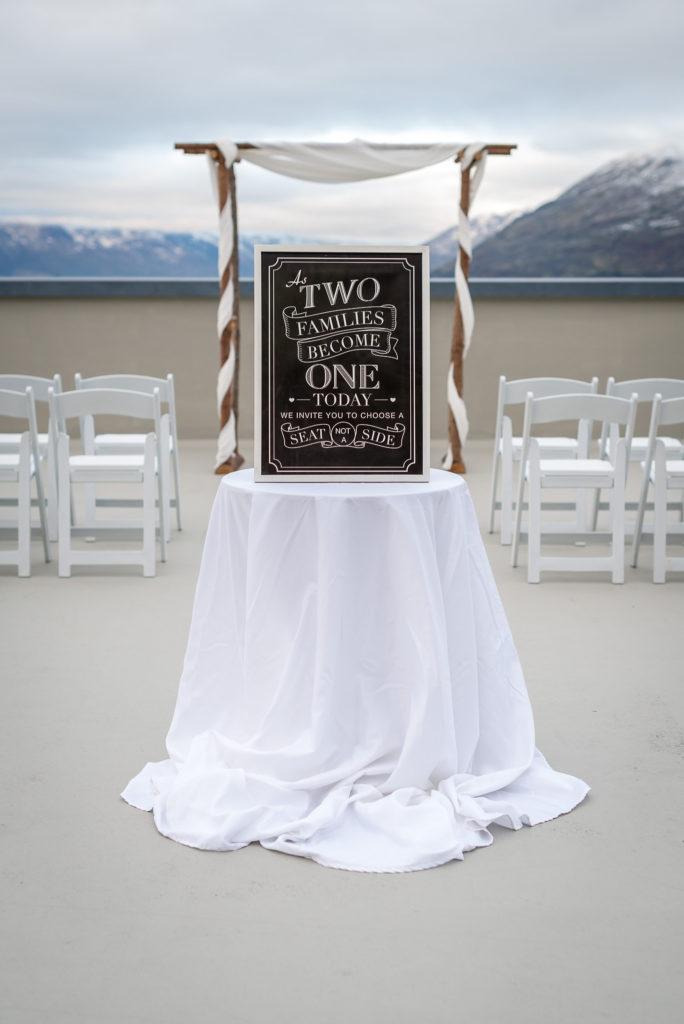 Queenstown Wedding Hire Registry Table New Zealand Queenstown Wedding Wedding Hire Ceremony