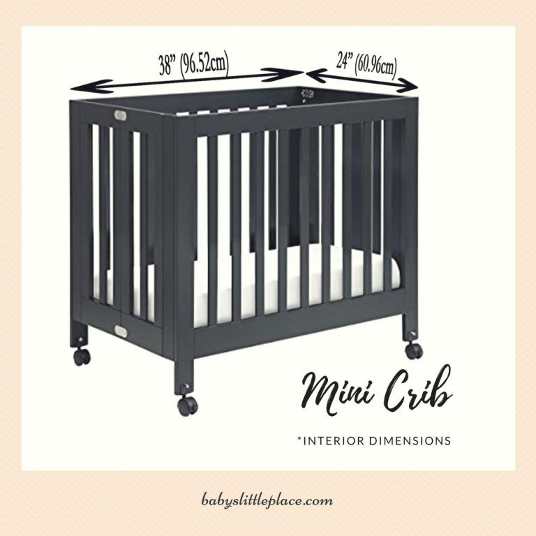Mini Cribs Dimensions Measurements If You Are Short Of Space Mini Crib Is A Perfect Solution For You Mini Cribs Are Grea Baby Cribs Small Baby Cribs Cribs