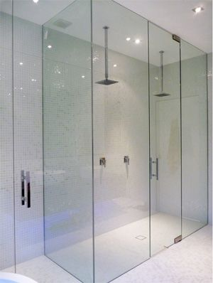 Our Frameless Showerscreen Offers A Minimal Visual Impact On Your Bathroom.  Description From Flowerhop.