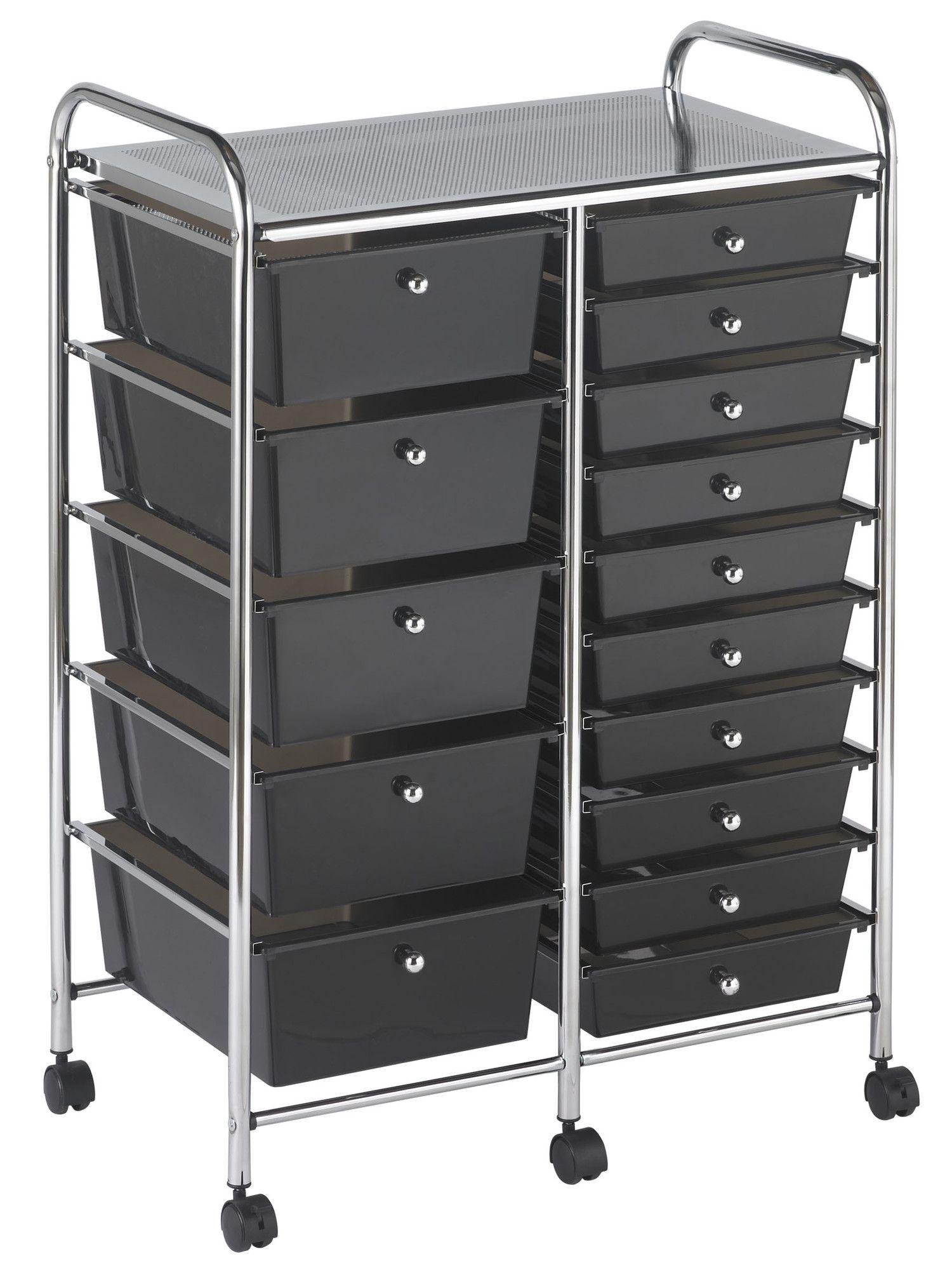 15 Drawer Storage Chest Storage Drawers Storage Plastic Drawers