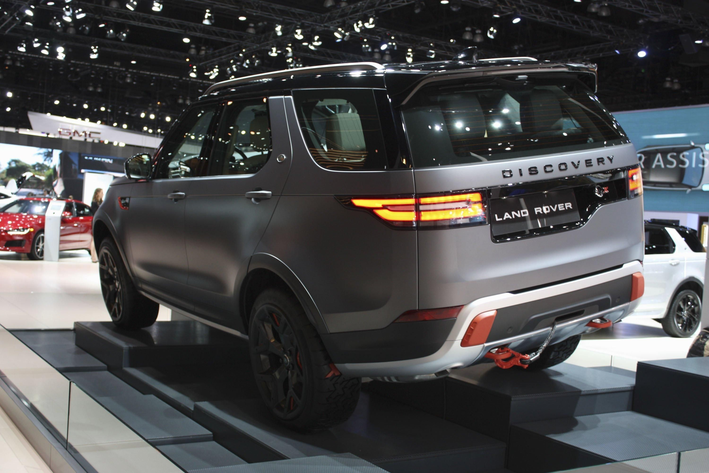 2018 Land Rover Discovery Svx Review Top Speed 3000X2000