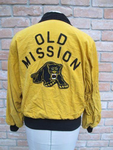 Vintage black panther jacket