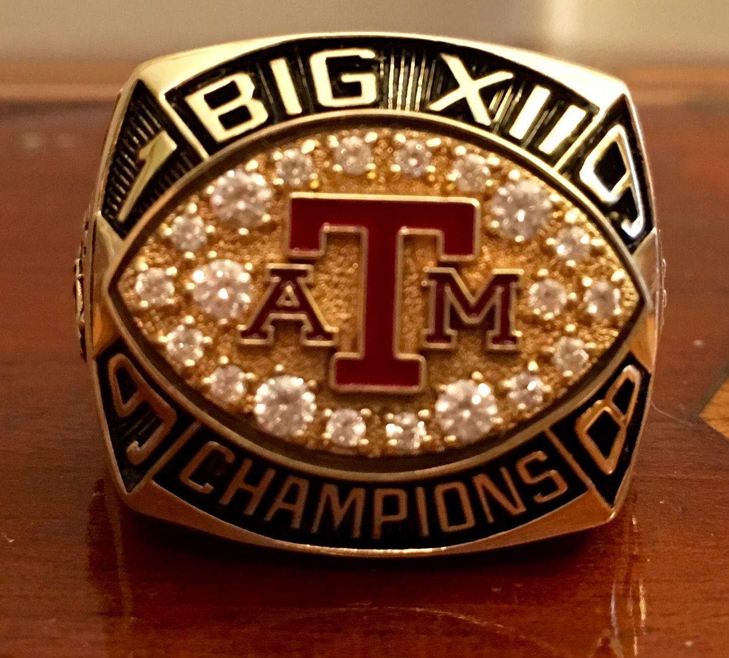 Texas A M 1998 Big 12 Championship Ring Championship Rings Texas Aggies Rings
