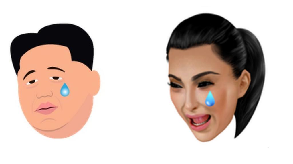 Kim Jong Un Emojis Take On Kim Kardashian Kimoji Kardashian Kim Kardashian Kim
