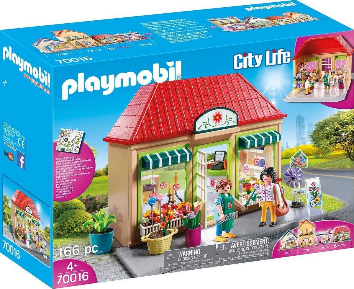 Playmobil Konstruktions Spielset Mein Blumenladen 70016 City Life Made In Germany Online Kaufen Otto Blumengeschaft Playmobil Blumenladen