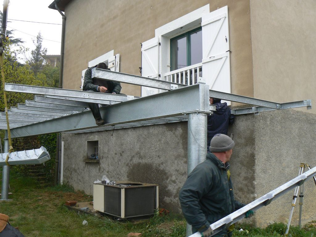 Ossature Métallique Pour Terrasse Bois terrasse sur pilotis] comment la rendre étanche