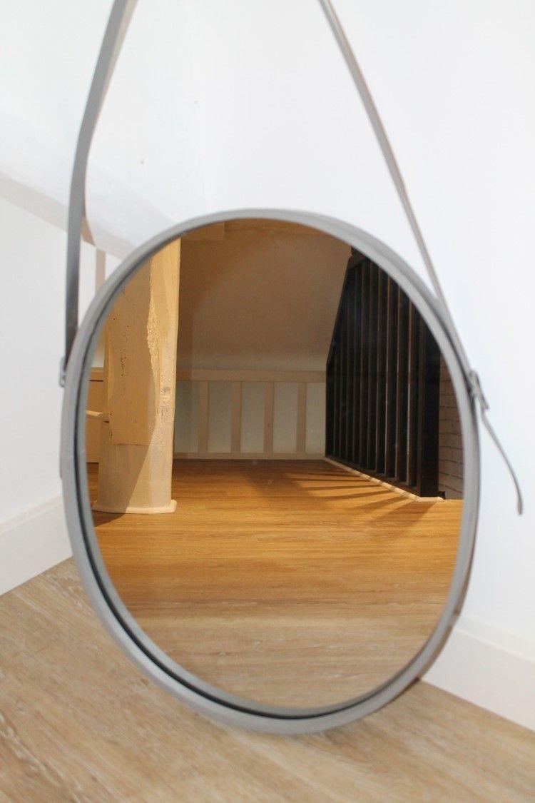 miroir vintage ovale bandouli re dolat alinea marion. Black Bedroom Furniture Sets. Home Design Ideas