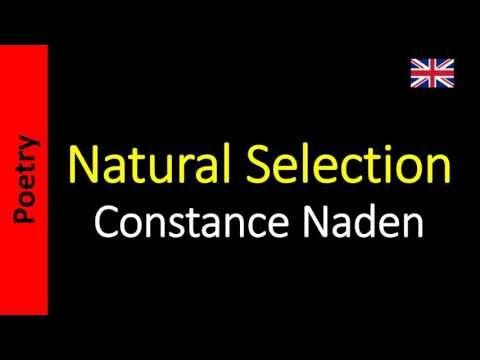 Constance Naden - Natural Selection
