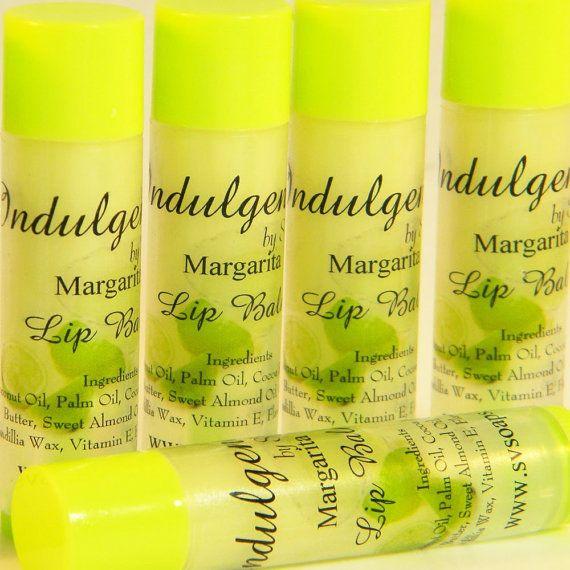 Margarita Vegan Lip Balm by SV.Soaps by svsoaps on Etsy, $4.00