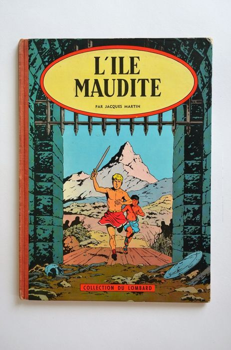 Alix T3 - L'Ile Maudite - C - EO (1957) - W.B.