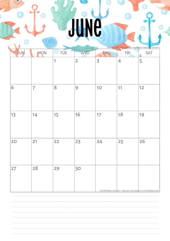 Pin on - 2021 Calendar Free Printable Monthly Planner