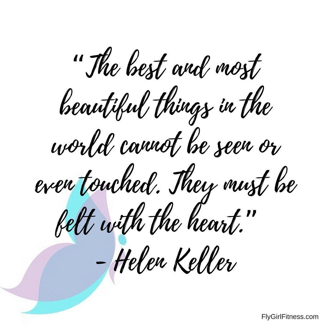 With Only 5 Days To Go To The Busiest And Most Commercial Holiday Of The Year This Quote From Helen Keller Is A Grea Quotes How To Stay Healthy Fitness Studio