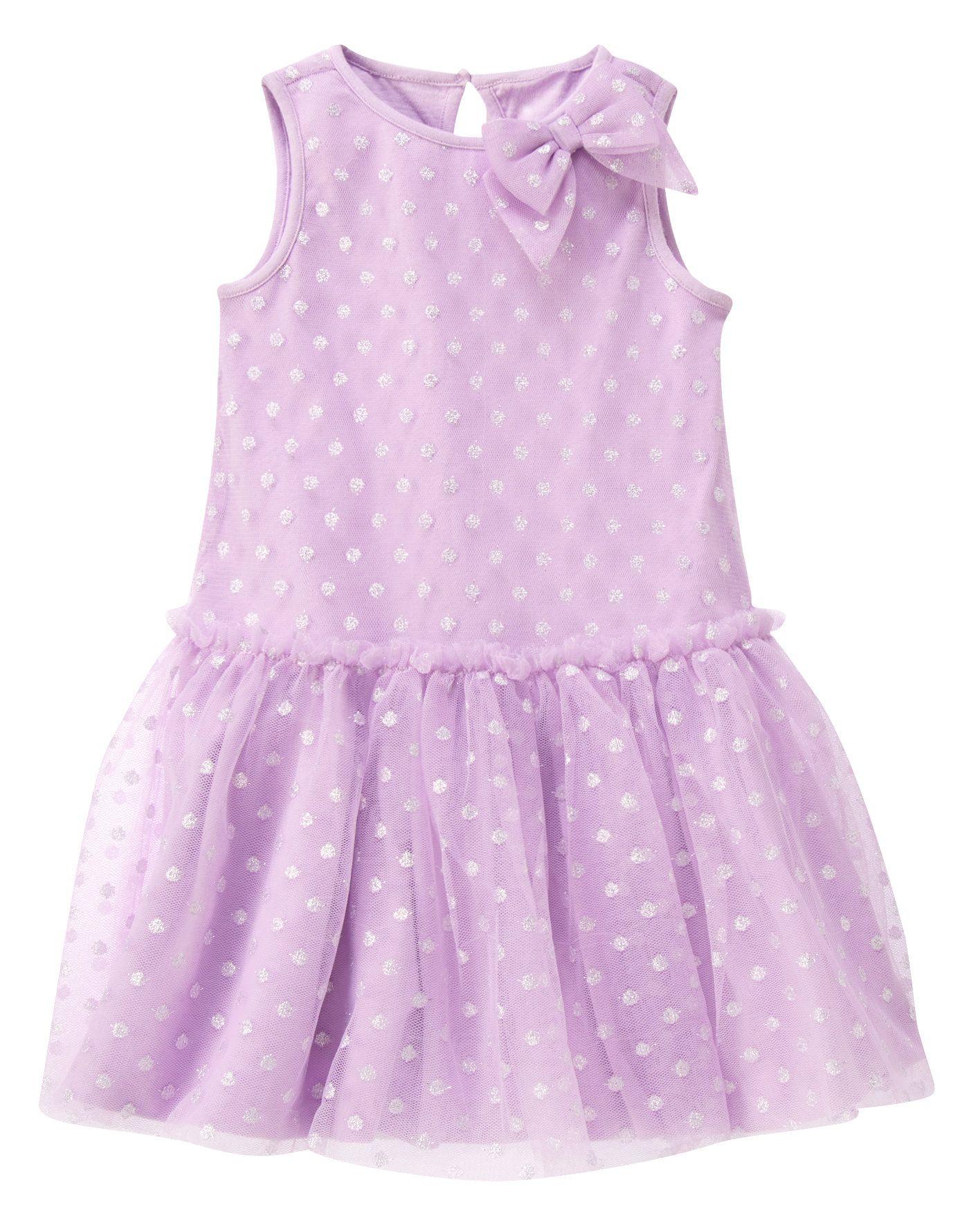 Tulle Sparkle Dot Dress at Gymboree Girl Gymboree