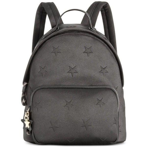 34858490 Tommy Hilfiger Sporty Neoprene Stars Mini Backpack ($66) ❤ liked on  Polyvore featuring bags, backpacks, black, mini rucksack, neoprene backpack,  ...