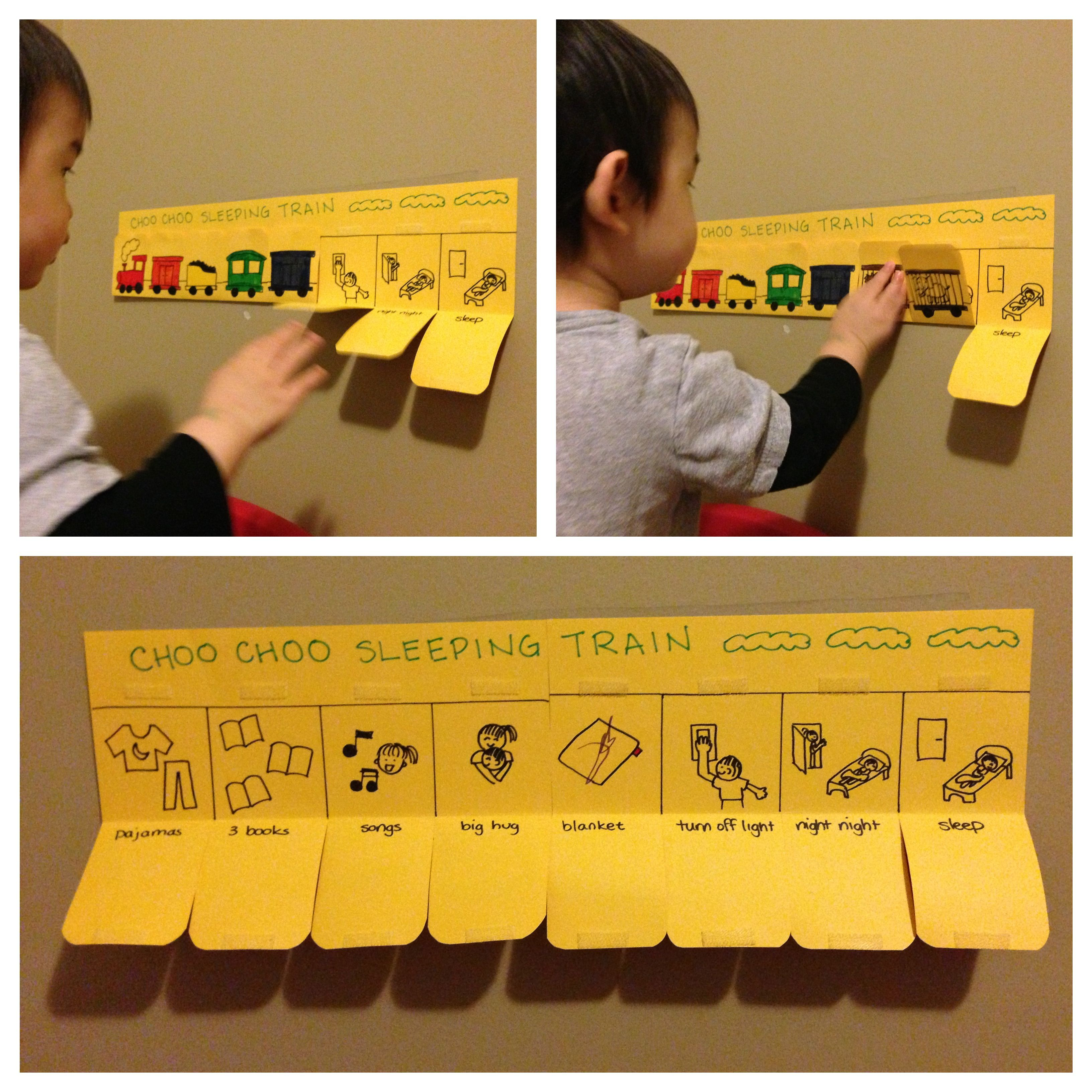 Our Nap Time Routine Chart Sleeping Train That Tackled
