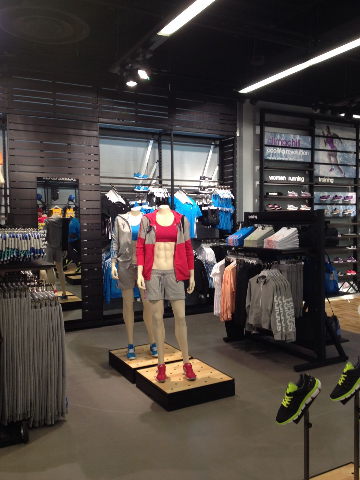 adidas Bluewater UK HomeCourt. TRC rolled out the VM