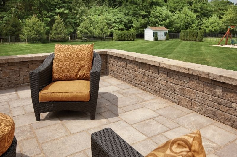 Elegant Cement Patio Ideas | Walkers Concrete LLC   Seating Walls Retaining Walls  Stamped Concrete .