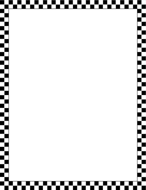 printable black and white checkered border free gif jpg pdf and rh pinterest com black checkered border clip art red checkered border clip art free