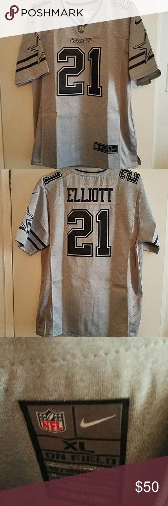 JERSEY Ezekiel Elliott grid iron jersey Other T shirts